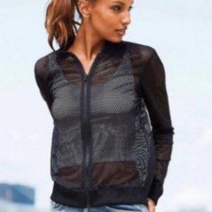 Victoria Sport Mesh Full Zip Jacket NWT